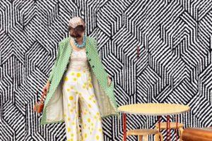 Marfa, TX, vintage clothing, print mixing, travel, wanderlust, journey, photo shoot, fashion blogger