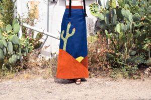 Marfa, TX, vintage clothing, travel, wanderlust, journey, photo shoot, fashion blogger, cactus print maxi skirt, maxi skirt