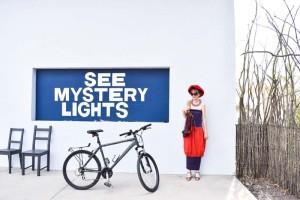Marfa, TX, vintage clothing,  travel, wanderlust, journey, photo shoot, fashion blogger, Born Again Vintage, bubble dress, Thunderbird Motel