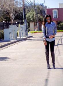 Brittainy perry Houston fashion blogger