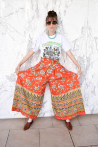 photo by Sofia Emm, Houston blogger, outfit, palazzo pants