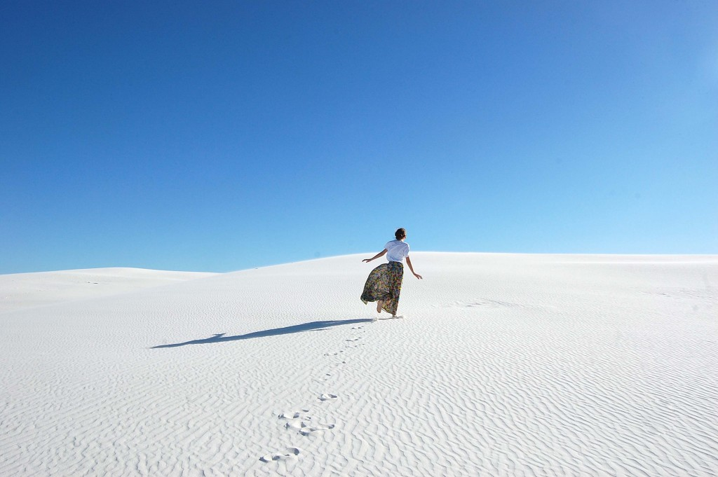 Blogger, White Sands, New Mexico, outfit, style