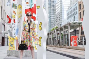 LAFashionsnob / Vintage Bill Blass Dress / Houston Fashion Blogger / style post
