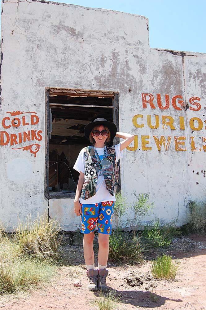 Painted Desert Trading Post / Route 66 / vintage clothing / outfit / LAFashionsnob