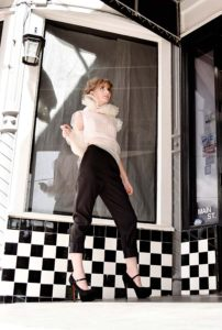 Steve Guthrie / Houston brand / Texas designer / crop top / pants