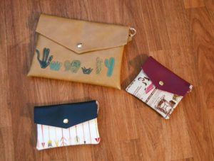 Madalyn Nault | handmade clutches | Phoenix maker