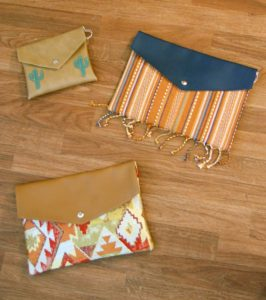 Madalyn Nault | handmade clutches | Phoenix maker