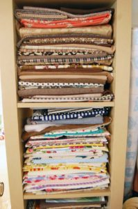 Madalyn Nault | fabric pile | Phoenix maker