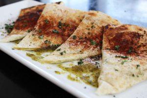Jalapeño marmalade and Goatcheese Quesadilla / Coronado PHX / vegetarian eatery