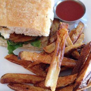 Monte Vista Torta / fries / food / The Coronado PHX / Phoenix restaurant