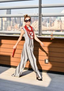 Laura Tanzer maxi dress, nyfw, sustainable fashion