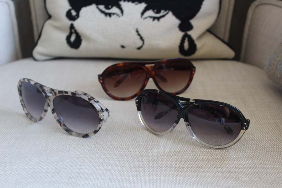 Darylynn Eyewear, aviator sunglasses, Ziegfeld Club
