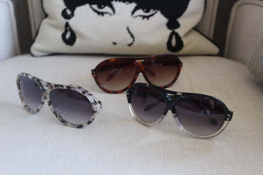 Darylynn Eyewear, aviator sunglasses, Ziegfeld Club