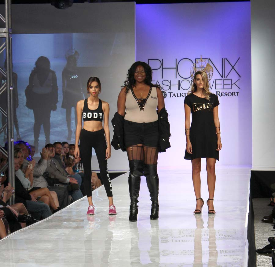 The Identity of SHE designer with models.
