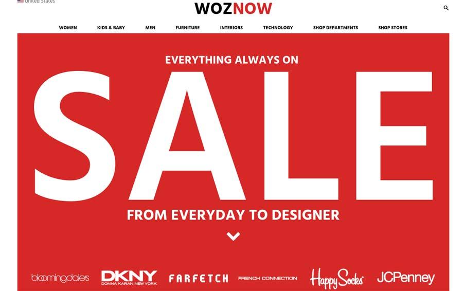 Woznow, designer discount shopping, shopping