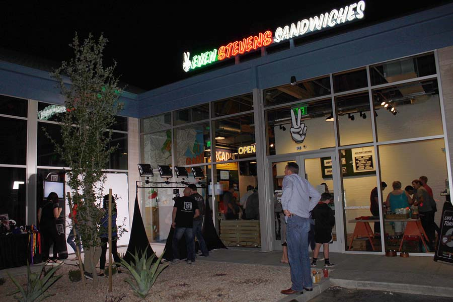 Even Stevens Arcadia Grand Opening, Phoenix events, Phoenix restaurant