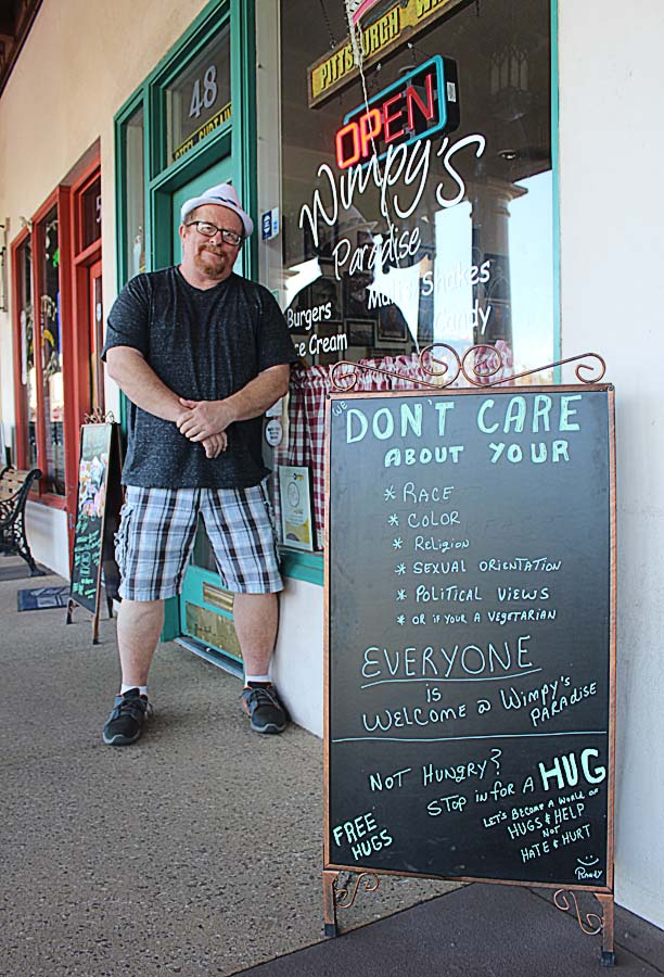 Randy Walters, Wimpy's Paradise, restaurant, Chandler AZ