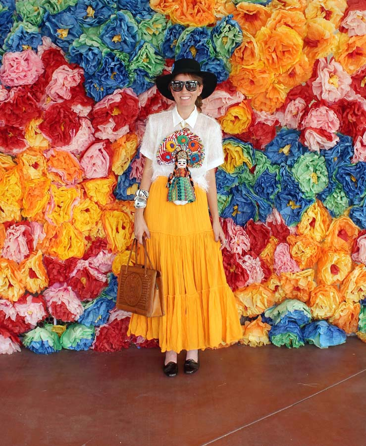 Frida Kahlo Inspired, vintage clothing, ootd