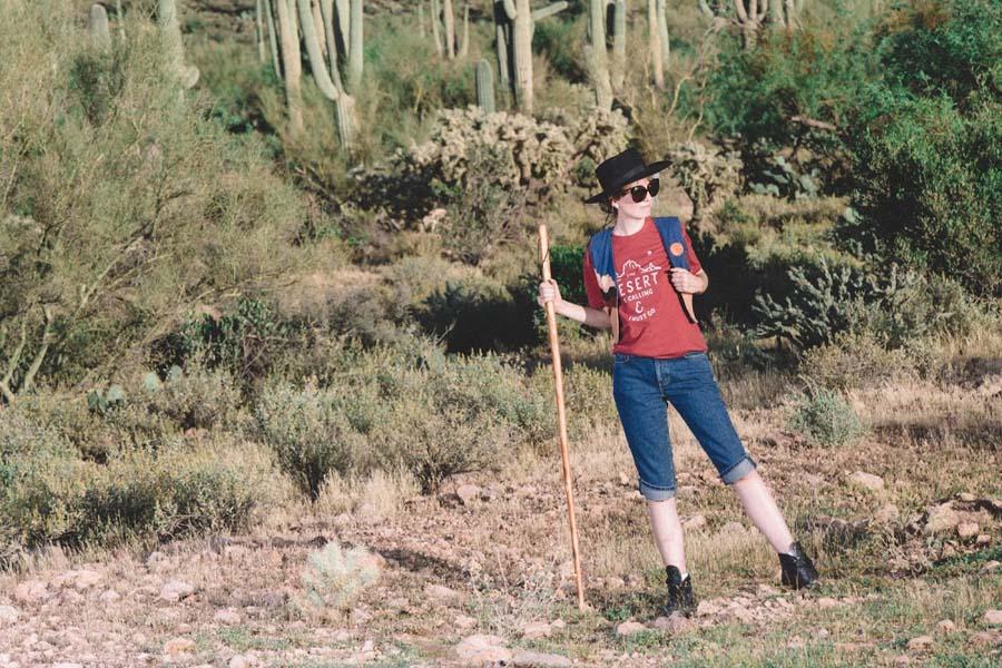 desert, hiking, arizona, superstition mountains, editorial