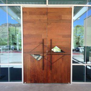 Doorway at Mountain Shadows resort in Arizona
