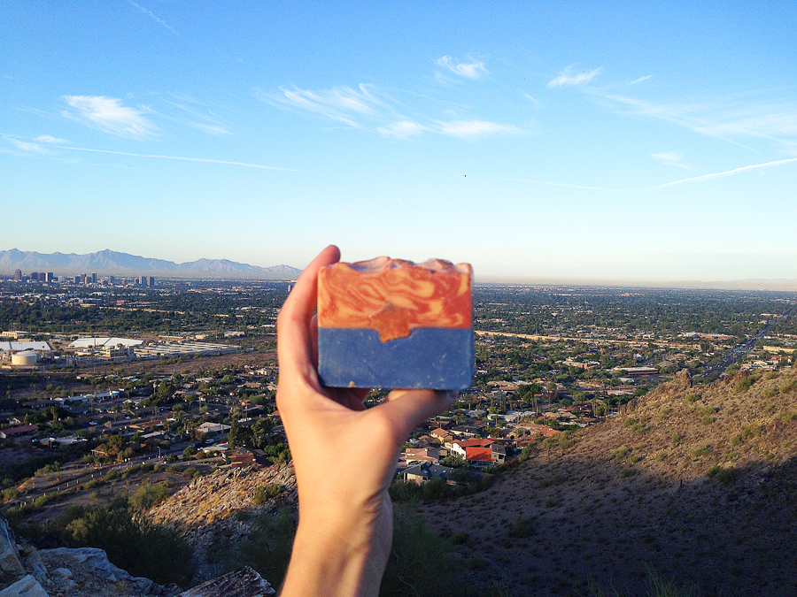 Worthewait Farmyard soaps, handmade soaps, made in Arizona