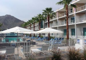 Mountain Shadows, Arizona, hotel, pool area