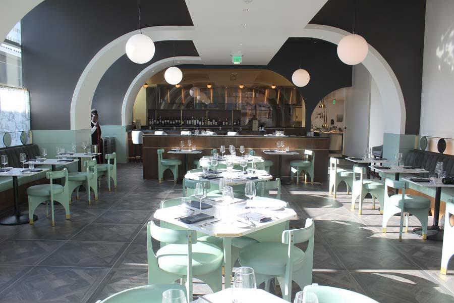 Hotel Alessandra, Houston, Texas, downtown Houston, Lucienne, restaurant