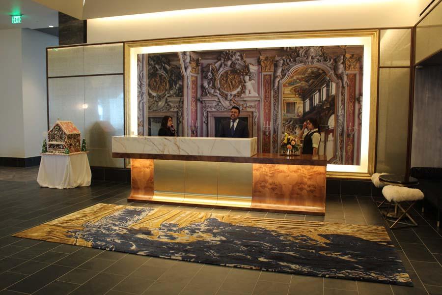 Hotel Alessandra, Houston, Texas, downtown Houston