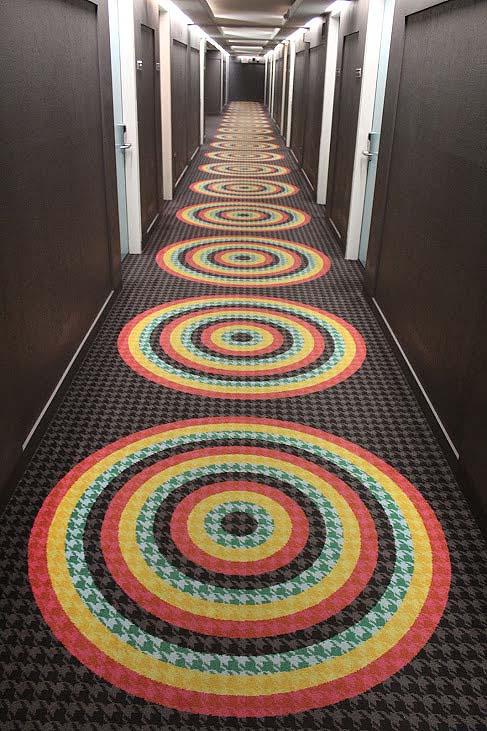 Graduate Tempe, interior, hallway, hotel, Arizona