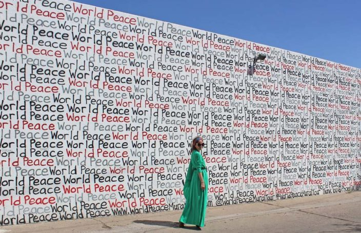 World Peace Wall, Phoenix, DTPHX, OOTD