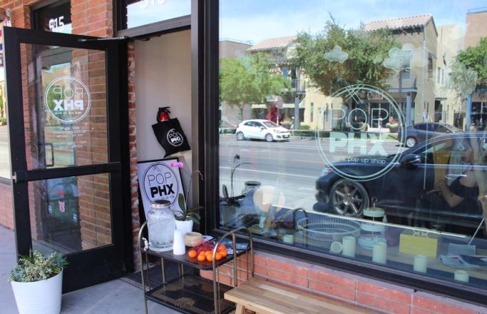 POP PHX, Phoenix, pop up shop, shopping
