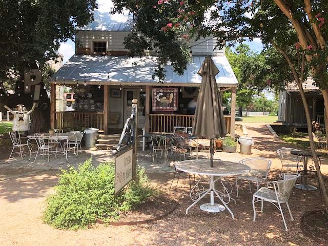 Round Top, TX, Henkel Square, travel