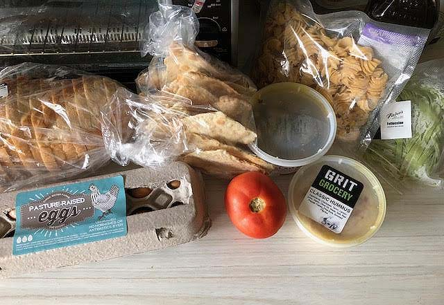 Grit Grocery, meal bundle, Houston, clean eating