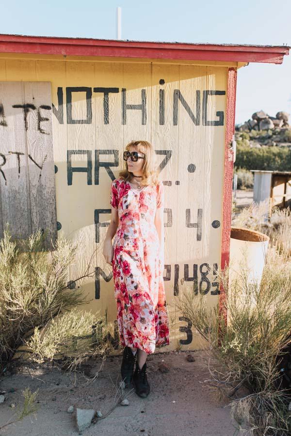 Nothing, AZ, photoshoot, model, blogger